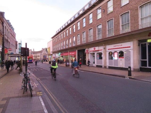 Approach to Cambridge centre