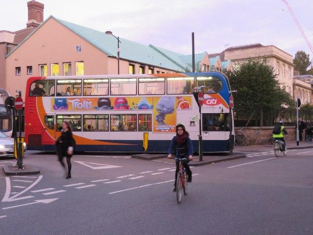 A typical Cambridge scene