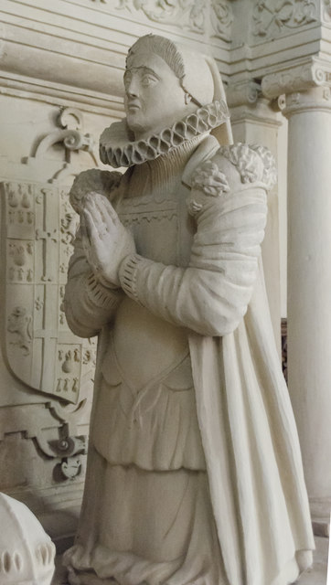 Grace Cartwright effigy, Church of the Holy Rood, Ossington