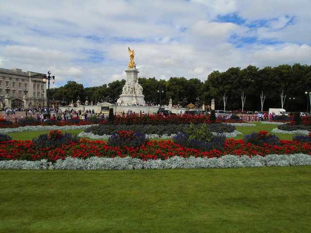 Flowerbeds near St James's Park