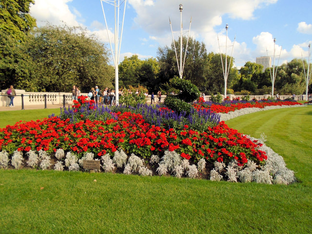 Flowerbed near St James's Park