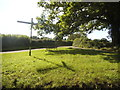 SU8399 : Grass triangle on Flowers Bottom Lane by David Howard