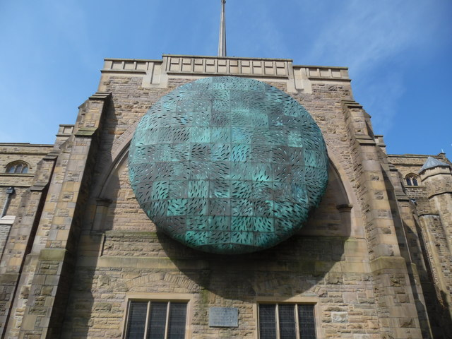 """""""The Healing of the Nations"""" Globe at Blackburn Cathedral"""