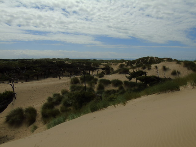 Formby Point to Raven Meols Hills