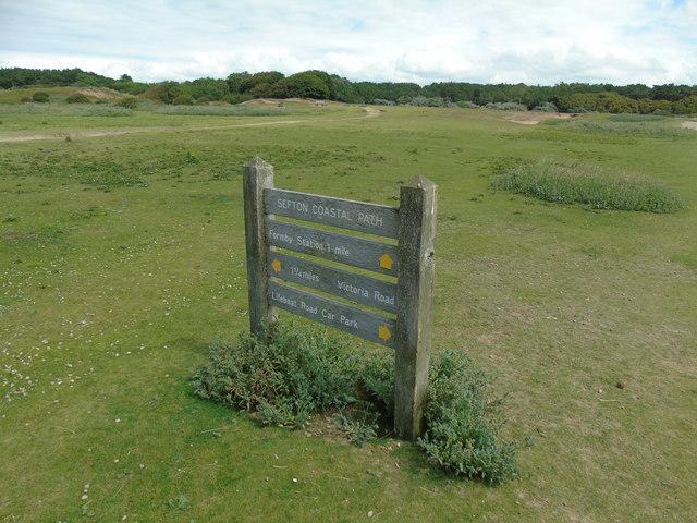 Sefton Coastal Path (marker)