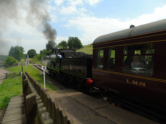 East Lancashire Railway at Irwell Vale