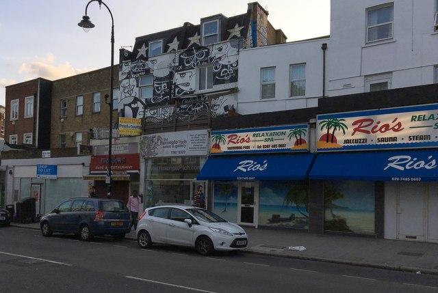Shops on Kentish Town Road
