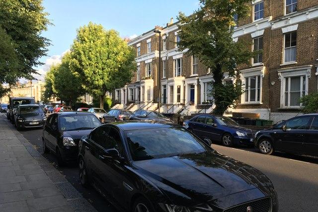 Houses on Gaisford Street