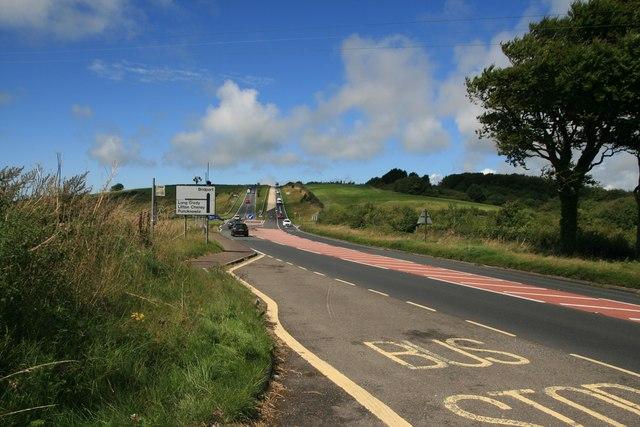 A35 near Long Bredy