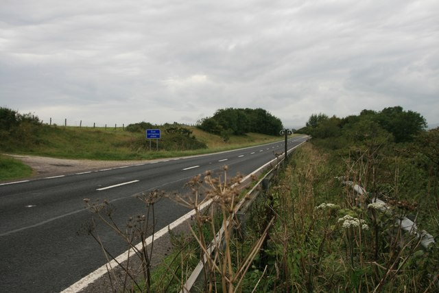 A35 near Askerswell