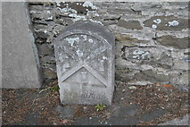 SX4757 : Plymouth Boundary Stone by N Chadwick
