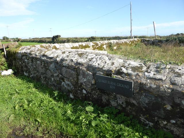 The Quaker Burial Ground