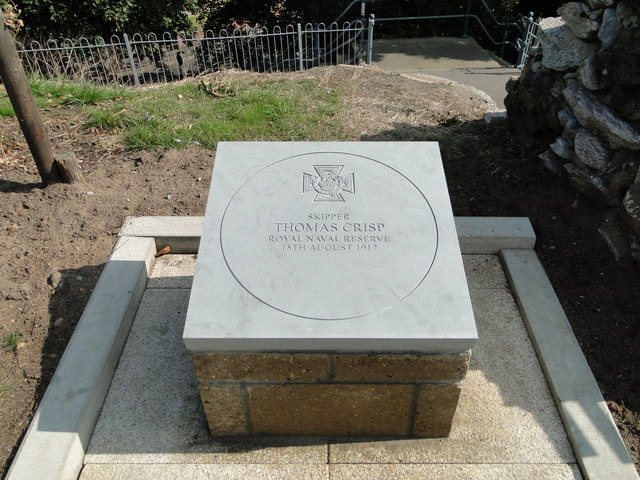 Memorial plaque to Tom Crisp V.C.
