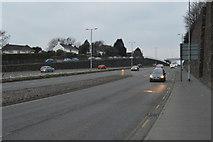 SX4857 : A386, Manadon Hill by N Chadwick