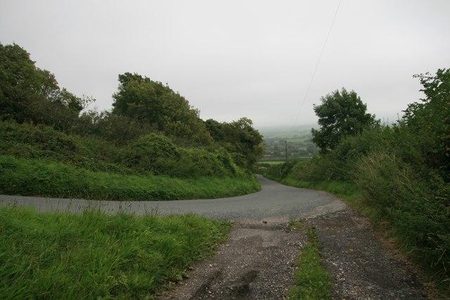 Road to Litton Cheney near Coombefield Farm