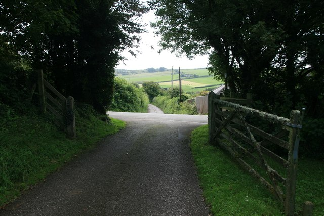 Entrance to South Eggardon Farm near Askerswell