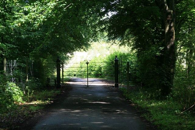 Gate to North Barn Farm