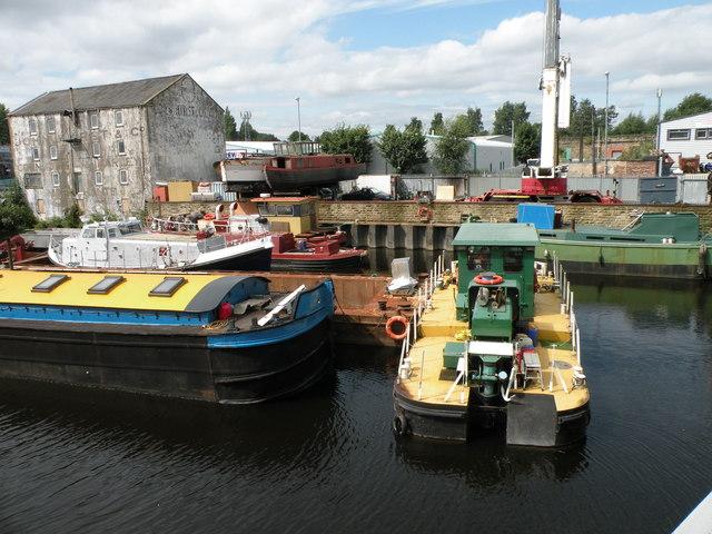 Boat Yard on the River Calder