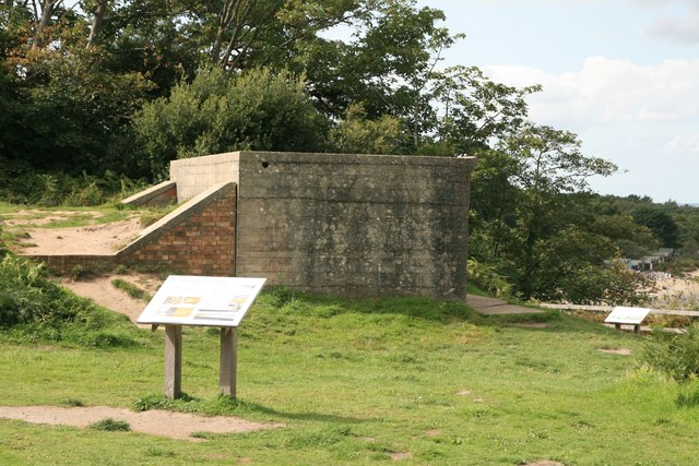 Searchlight Emplacement at Fort Heny, Studland