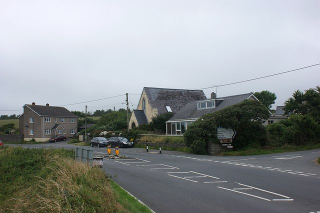 Houses at Penycwm
