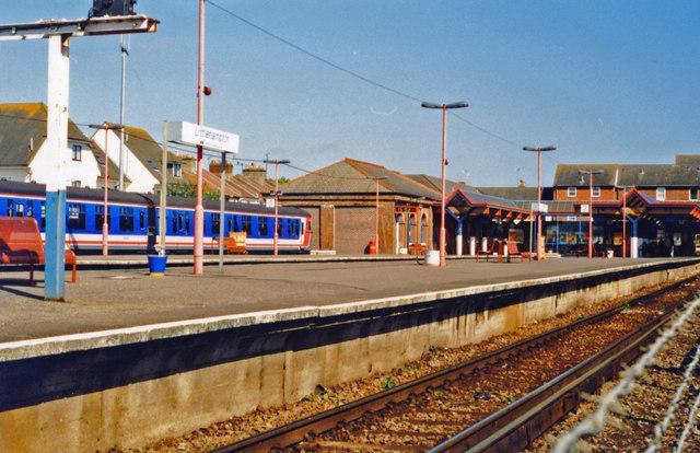 Littlehampton station, 1997