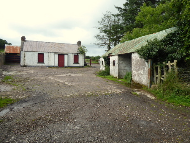 Vacant farm buildings, Tullycorker