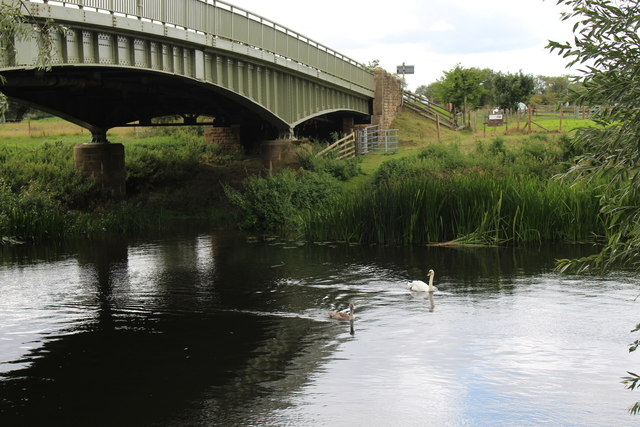 Jubilee Bridge over the River Avon