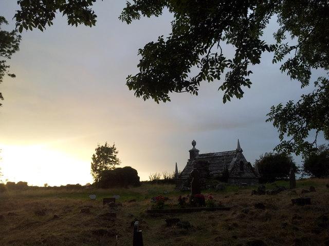 Moor Park cemetery, Moor, Knocknacreeva, Athenry, east Galway
