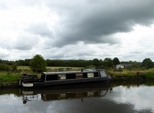 Canal and cloud