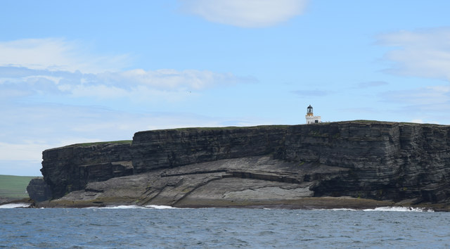 Brough of Birsay lighthouse, Orkney