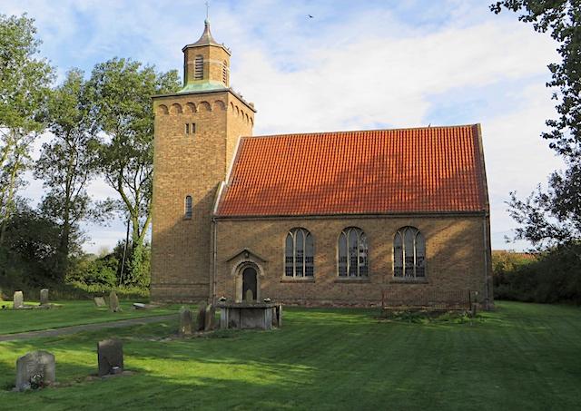 Hilston: St Margaret's Church