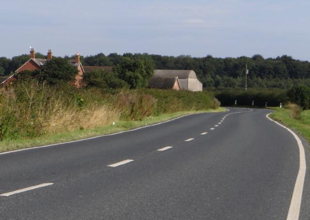 B1242 near Grimston