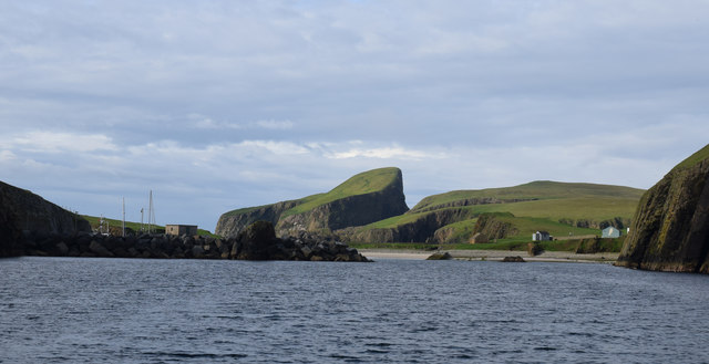 Sea Entrance to North Vaven, Fair Isle