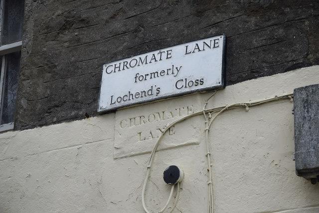 Chromate Lane, Lerwick