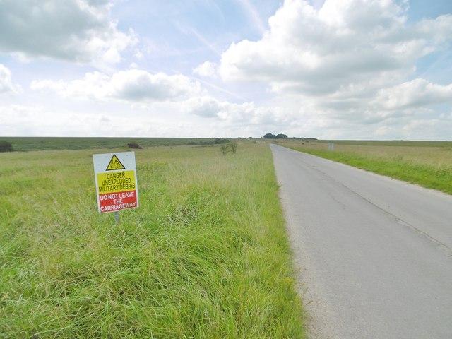 Boreham, warning sign