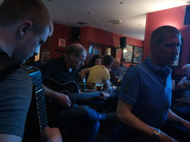 A Session In the Lounge Bar, Lerwick