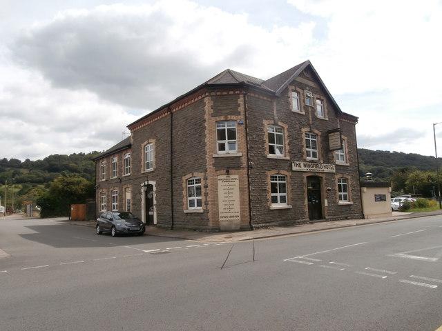The Wingfield Hotel, Llanbradach