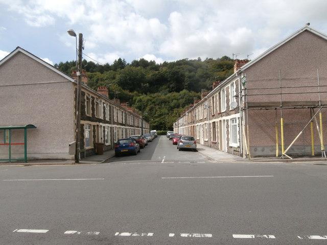 Victoria St, Llanbradach
