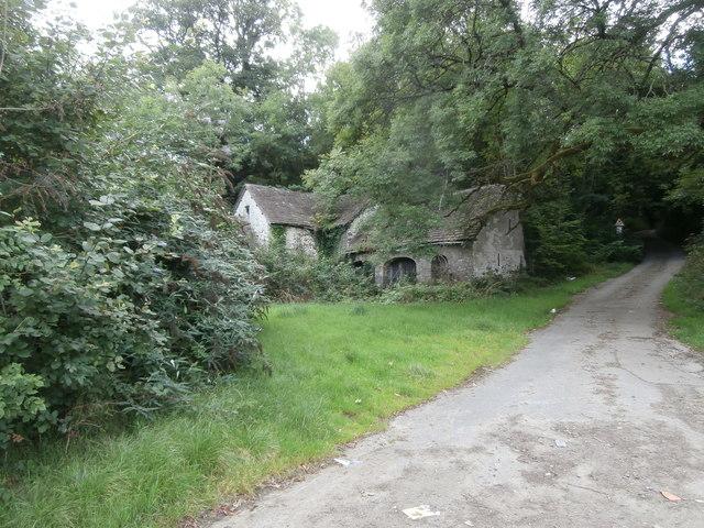 Derelict building, Mill Lane, Ystrad Mynach