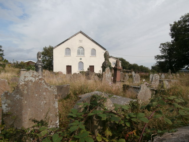 Hengoed Chapel and burial ground