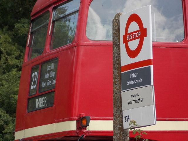 Imber: an incongruous London scene