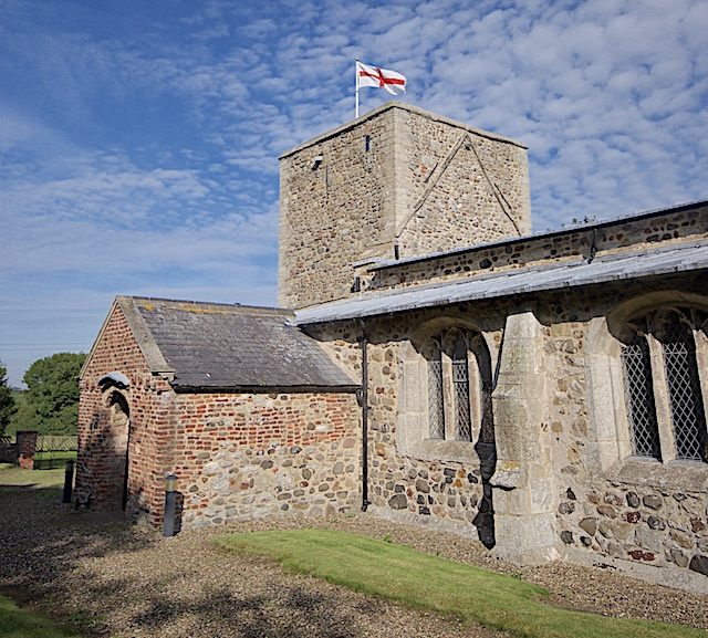 St Michael's Church tower, Garton