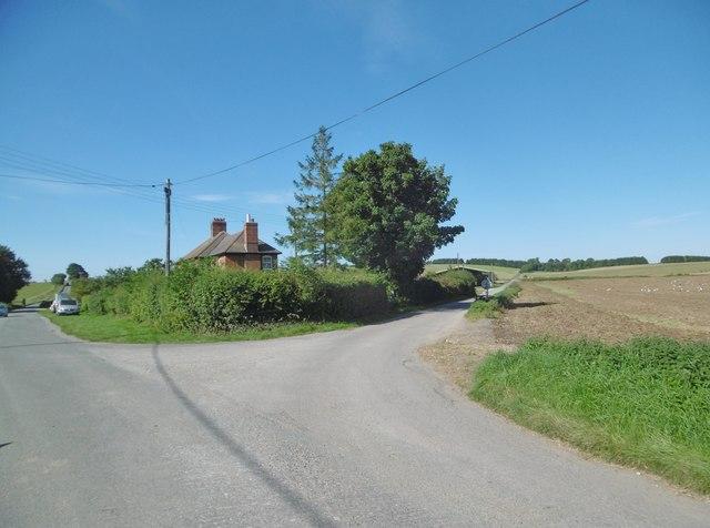 Gore Cross, road junction