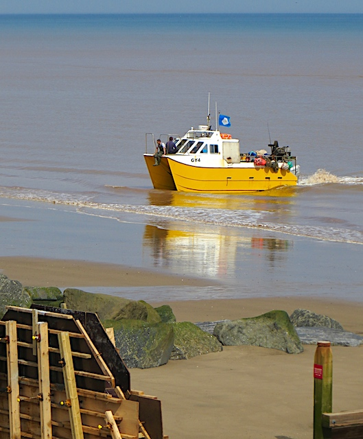 Beach landing, Withernsea