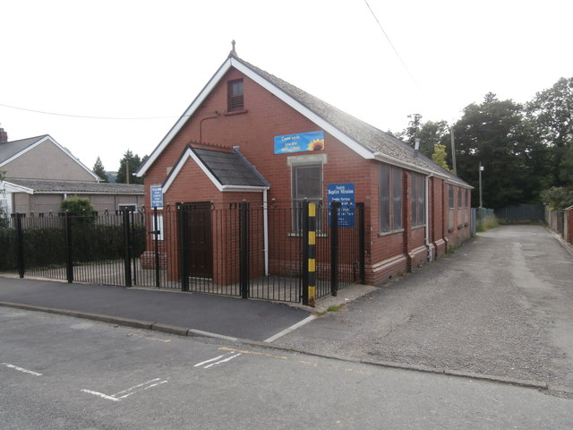 English Baptist Mission, Ystrad Mynach