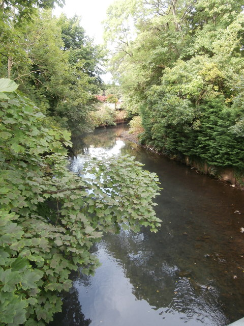 The Rhymney River, Ystrad Mynach