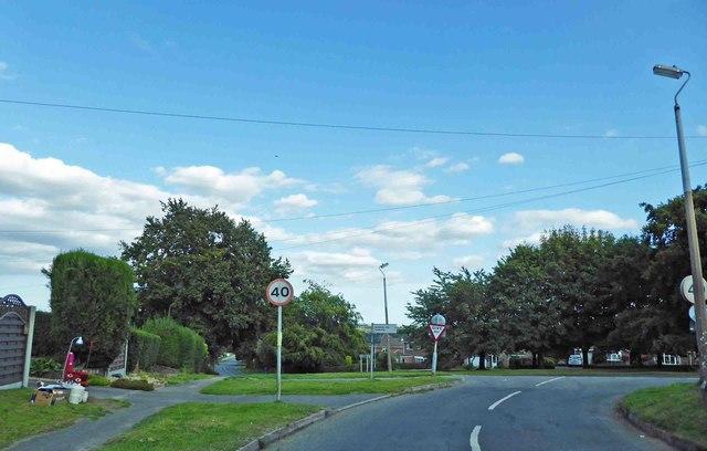 Langton Hill junction ahead