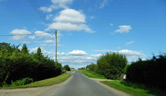 Reeds Beck road junction