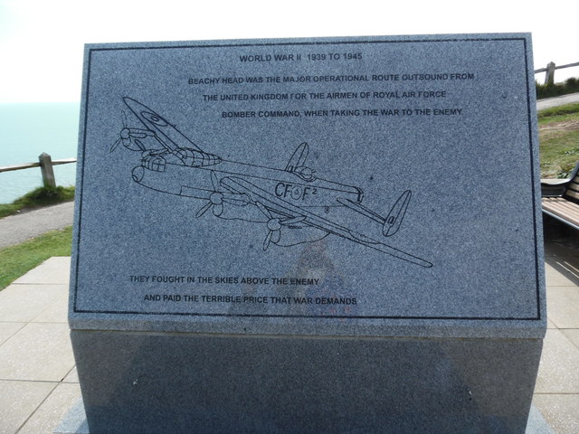RAF Bomber Command Memorial, Beachy Head (1)