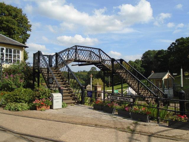 Footbridge, Fawley Hill